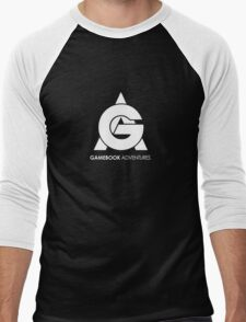 Gamebook Adventures Logo Men's Baseball ¾ T-Shirt