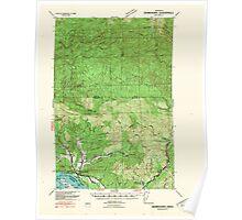 USGS Topo Map Washington Skamokawa 243739 1941 62500 Poster