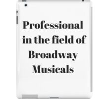 Broadway Musicals iPad Case/Skin