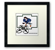 And who are you little fella? Framed Print