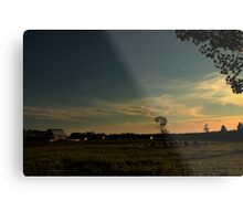 Northern Ontario Farm Metal Print