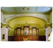 0197  The Organ Poster