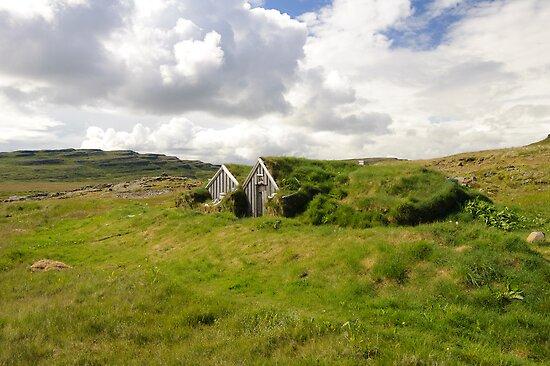 Sorcerer's Cottage by Ólafur Már Sigurðsson