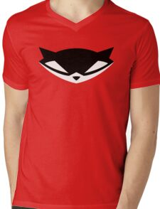 Sly Cooper (Black) Mens V-Neck T-Shirt