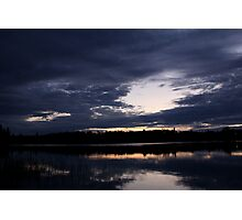 Northern Ontario Lake Photographic Print