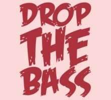 Drop The Bass (Red) One Piece - Short Sleeve