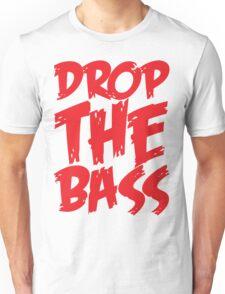 Drop The Bass (Red) Unisex T-Shirt