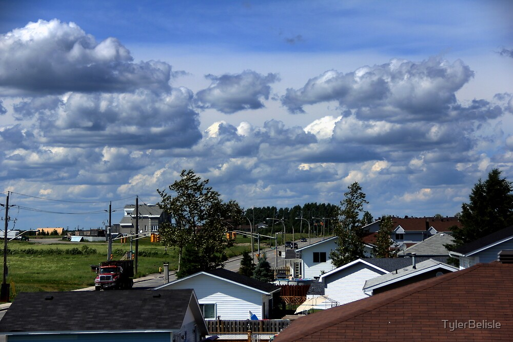 Clouds Over Suburbia II by TylerBelisle