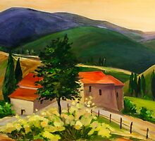 Tuscan Hills by Elise Palmigiani