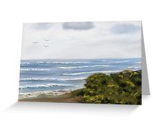 Port Fairy Beach Greeting Card