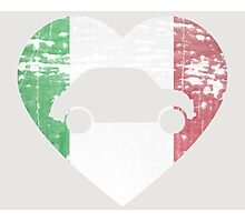 I Heart Fiat 500s Photographic Print