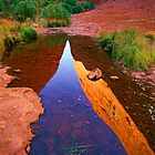 Kata Tjuta reflection by Kevin McGennan