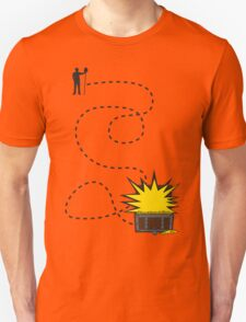 Treasure Hunt, follow the map T-Shirt