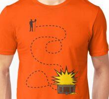 Treasure Hunt, follow the map Unisex T-Shirt