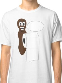 Blank Mr Hanky style poo shirt. Fill in your own saying! Classic T-Shirt