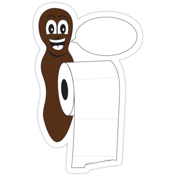 Blank Mr Hanky style poo shirt. Fill in your own saying! by Dan Treasure