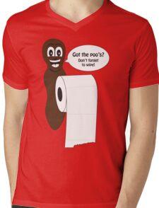 Mr Hanky style poo shirt Mens V-Neck T-Shirt