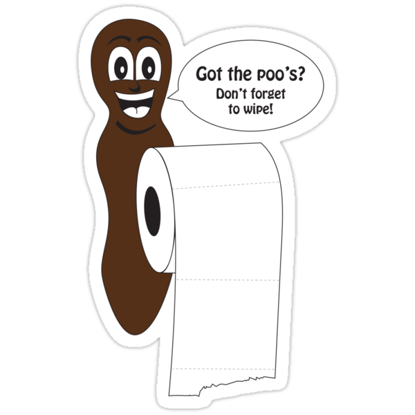 Mr Hanky style poo shirt by Dan Treasure