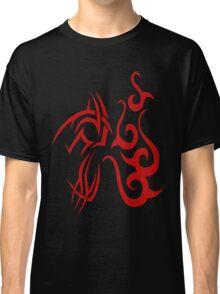 Swirls, tattoo style pattern Classic T-Shirt