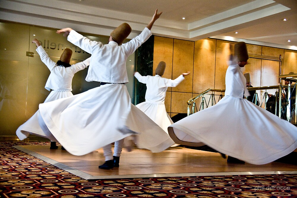 Whirling Dervishes by phil decocco
