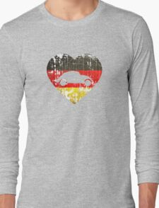 I Heart VW Beetles Long Sleeve T-Shirt