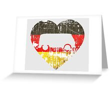I Heart VW Campers Greeting Card