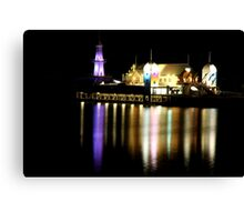 Bar at the end of the Pier Canvas Print