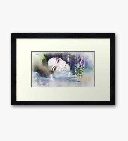 Scent of rain .. Framed Print