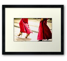 These Shoes Aren't Made For Walking... Framed Print