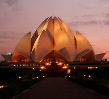 Lotus Temple - New Delhi by Dhiraj Anand Khatri