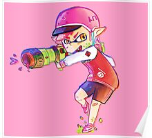 Inkling Boy Poster