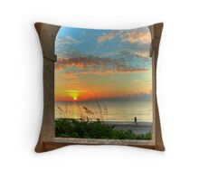 Arched Outlook Throw Pillow
