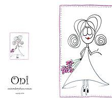 oni card by deborah parker