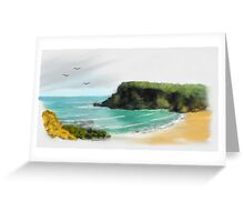 Childer's Cove Hilltop Views Greeting Card