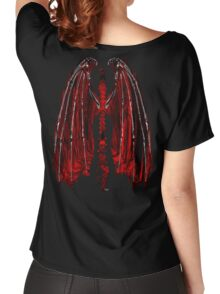Demon wings Inferno Women's Relaxed Fit T-Shirt