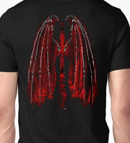 Demon wings Inferno Unisex T-Shirt