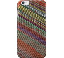 Tulip Table Cloth (Aerial view of tulip field) iPhone Case/Skin