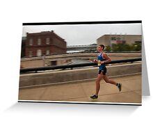 Tri-Indy Sprint-Olympic -Duathlon 7 Greeting Card