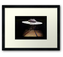 The Visitor From Outer Space! Framed Print