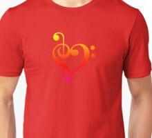 Love Music (Warm Colors) Unisex T-Shirt