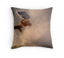 Surf's Up - Cottesloe Beach Throw Pillow