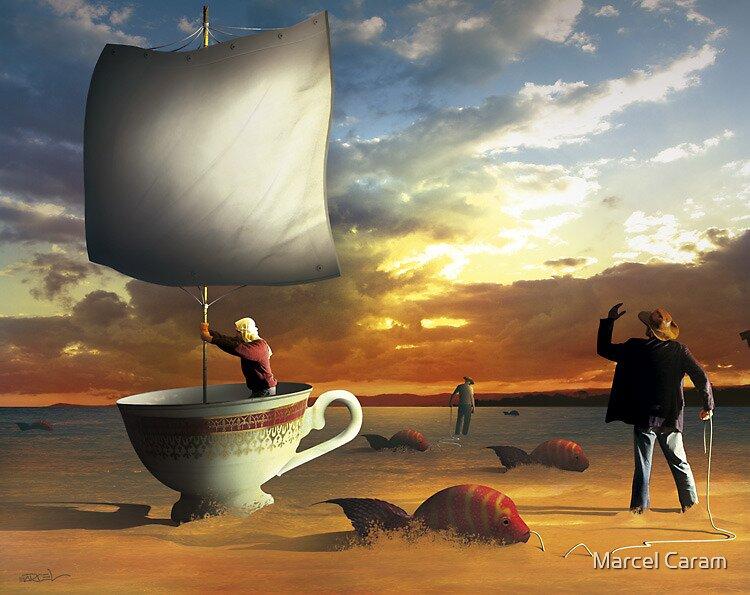 Navegante. by Marcel Caram