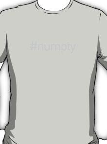 """Numpty"" Hashtag T-Shirt"