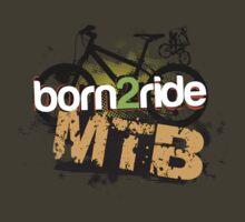 Born 2 Ride MTB by Alisdair Binning