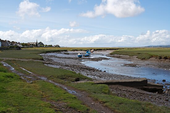 Pen Clawdd Inlet by cofiant