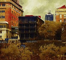 September Along the Hudson by RC deWinter