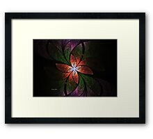 Elliptic Splits Revisited Framed Print