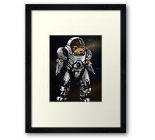 Grunt Mass Effect Framed Print