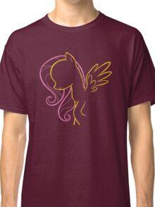 Fluttershy Outline Classic T-Shirt