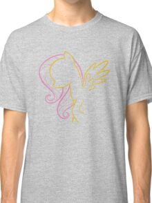 Fluttershy Outline Classic T-Shirt